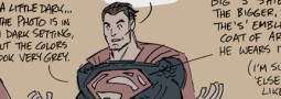 Man of Steel Goes Gray